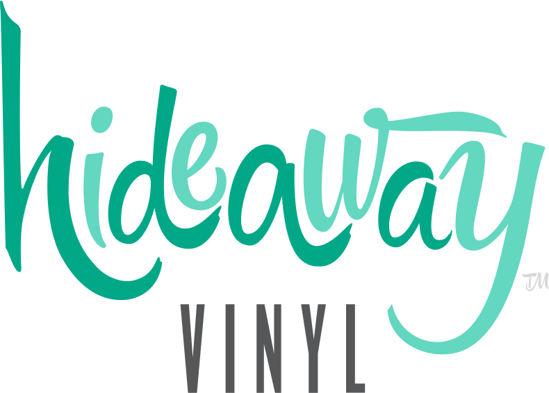 hideaway vinyl logo