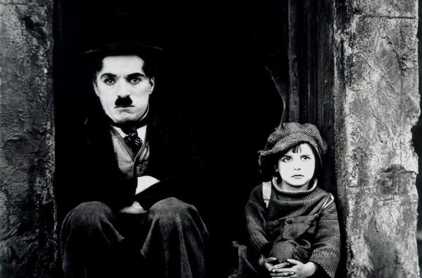 Charlie Chaplin in The Kid (1921)
